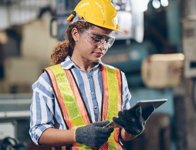 Seguridad en áreas de trabajo con bandas transportadoras