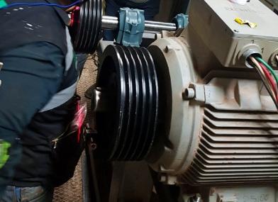 Fabricación de poleas especializadas y elementos de transmisión