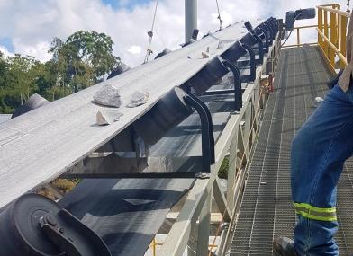 Reparación de cintas transportadoras de la mano de ingenieros expertos