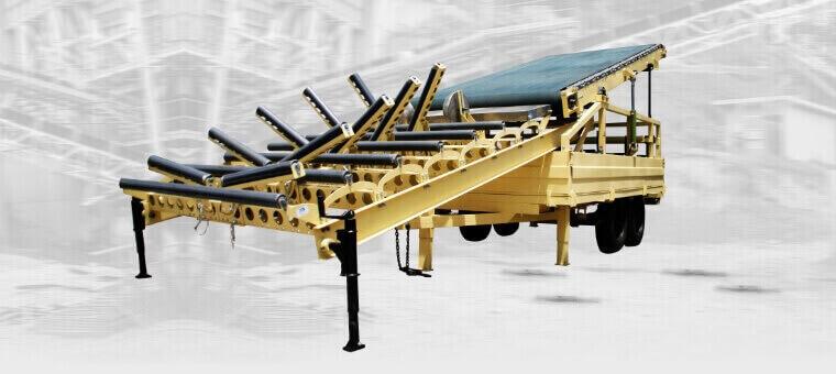 Hacemos diseño, fabricación y comercialización de bandas transportadoras con rodillos.