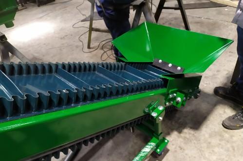 Fabricantes de cintas transportadoras de bandeja plana