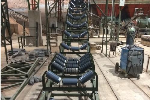 Rodillos de cintas transportadoras en Medellín y Barranquilla